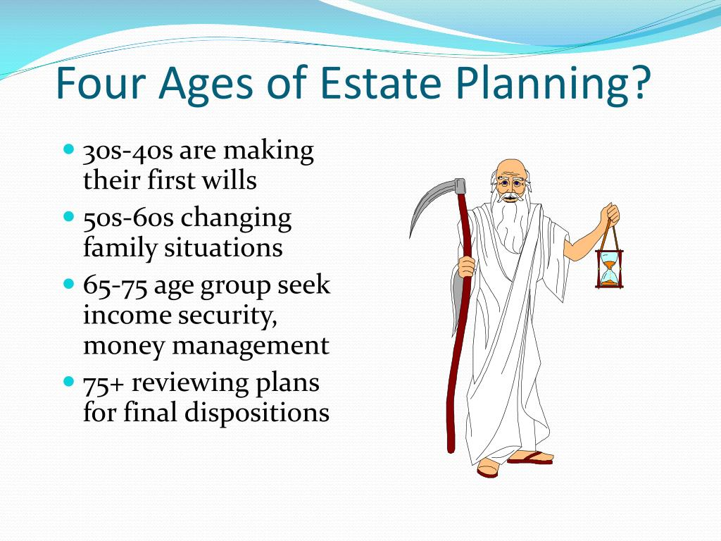 Four Ages of Estate Planning?