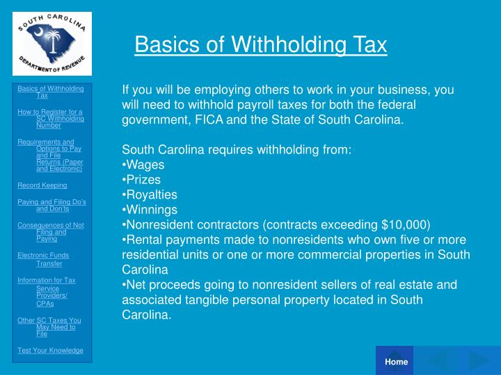 Basics of withholding tax l.jpg