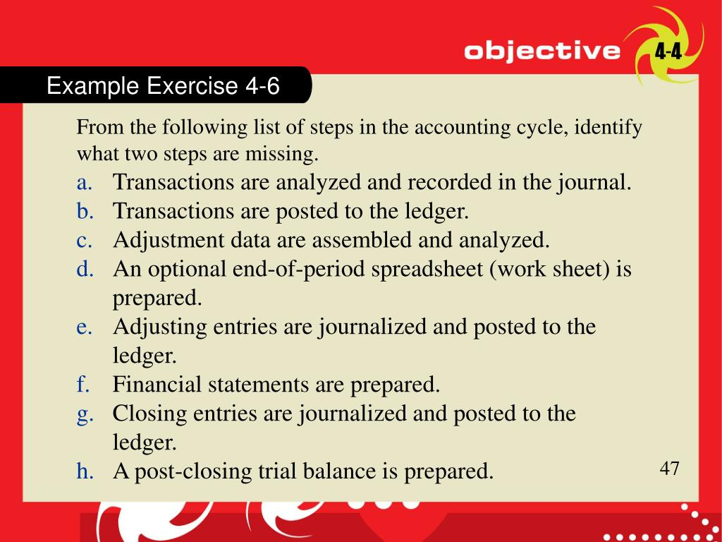 Example Exercise 4-4