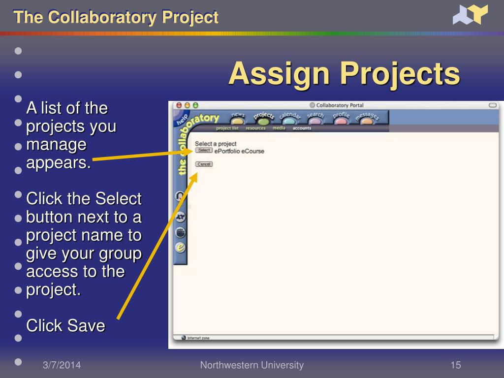 Assign Projects