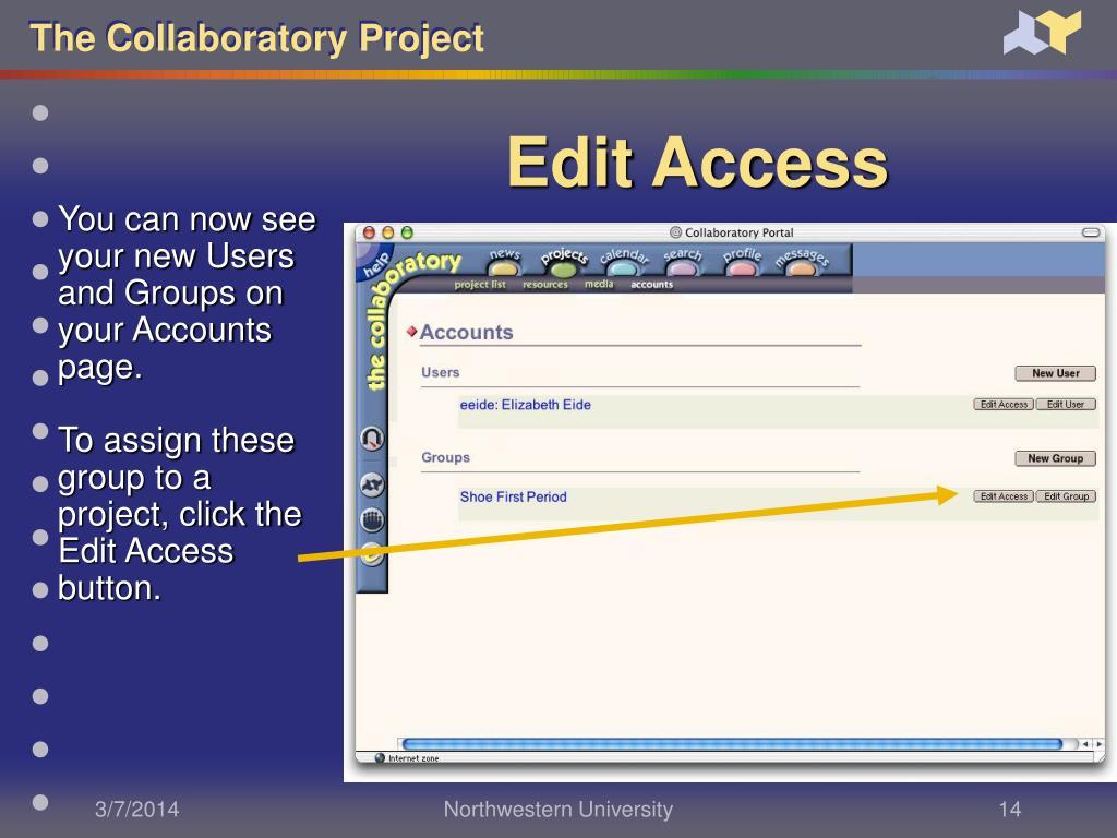 Edit Access