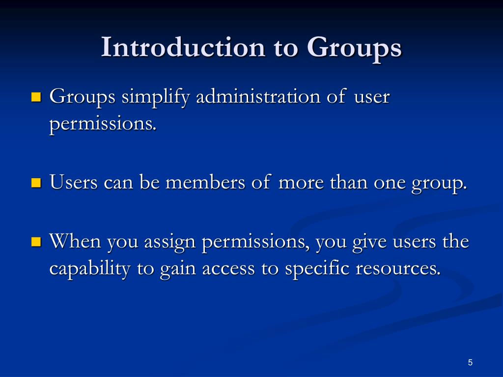 Introduction to Groups