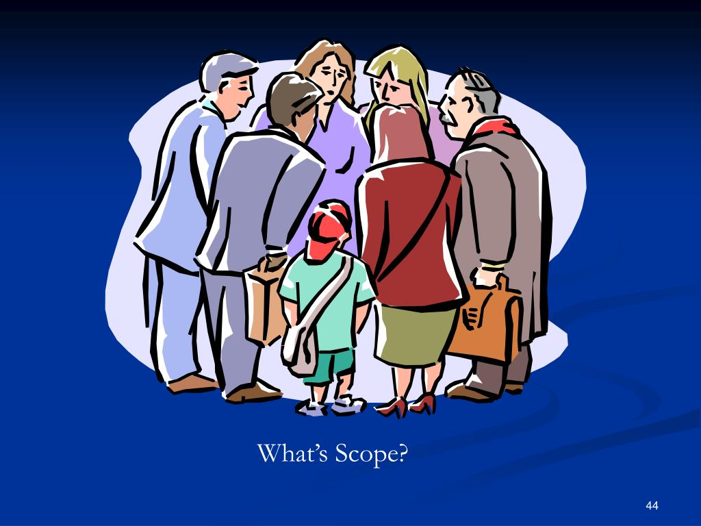 What's Scope?