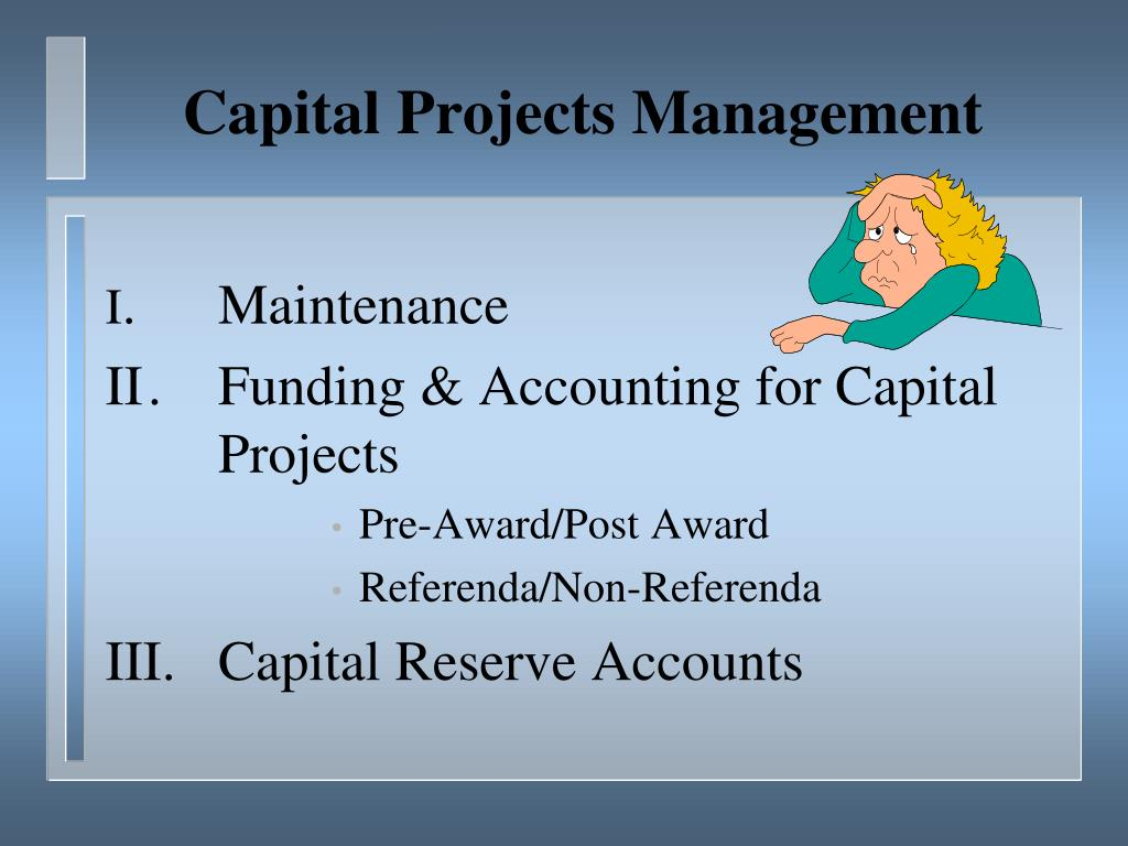 Capital Projects Management