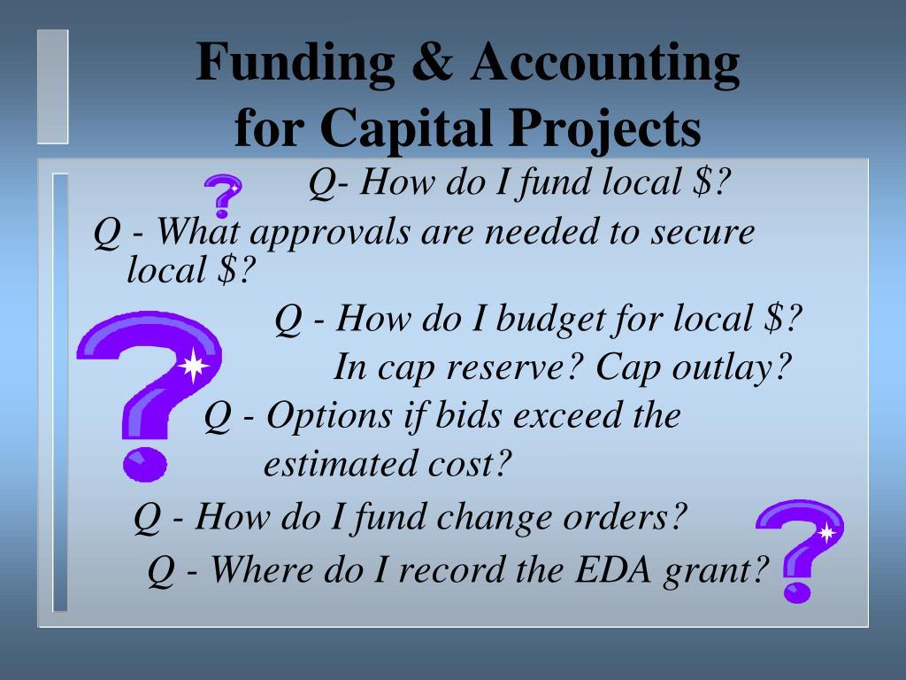 Funding & Accounting