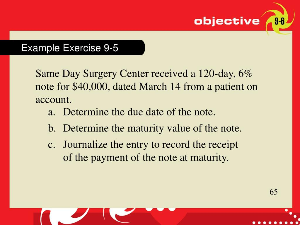 Example Exercise 9-5