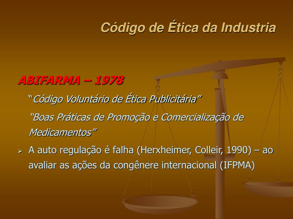 Código de Ética da Industria