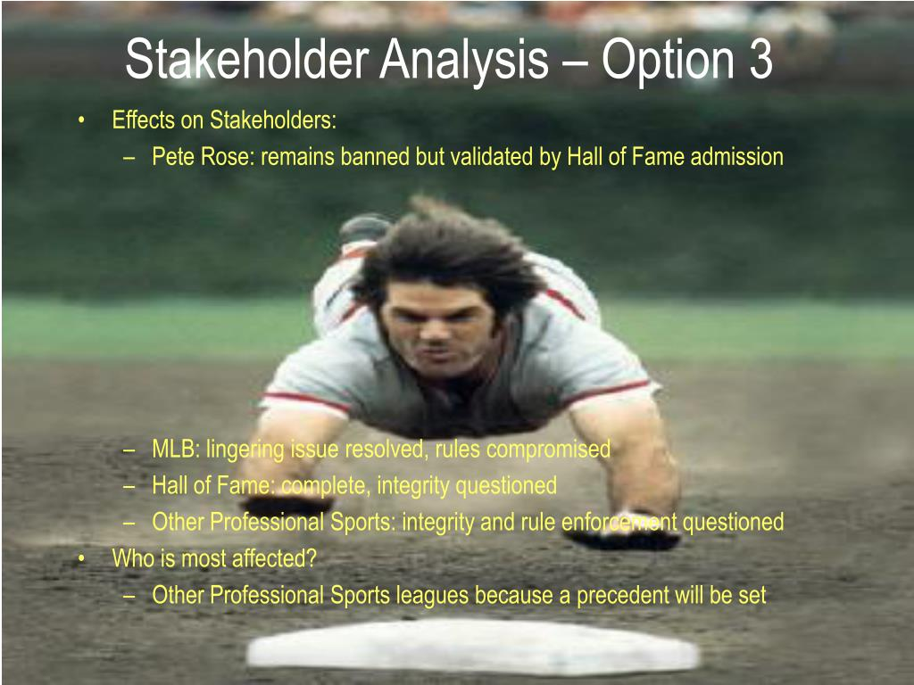 Effects on Stakeholders: