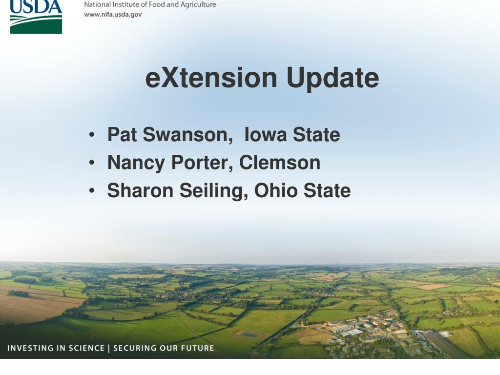 eXtension Update