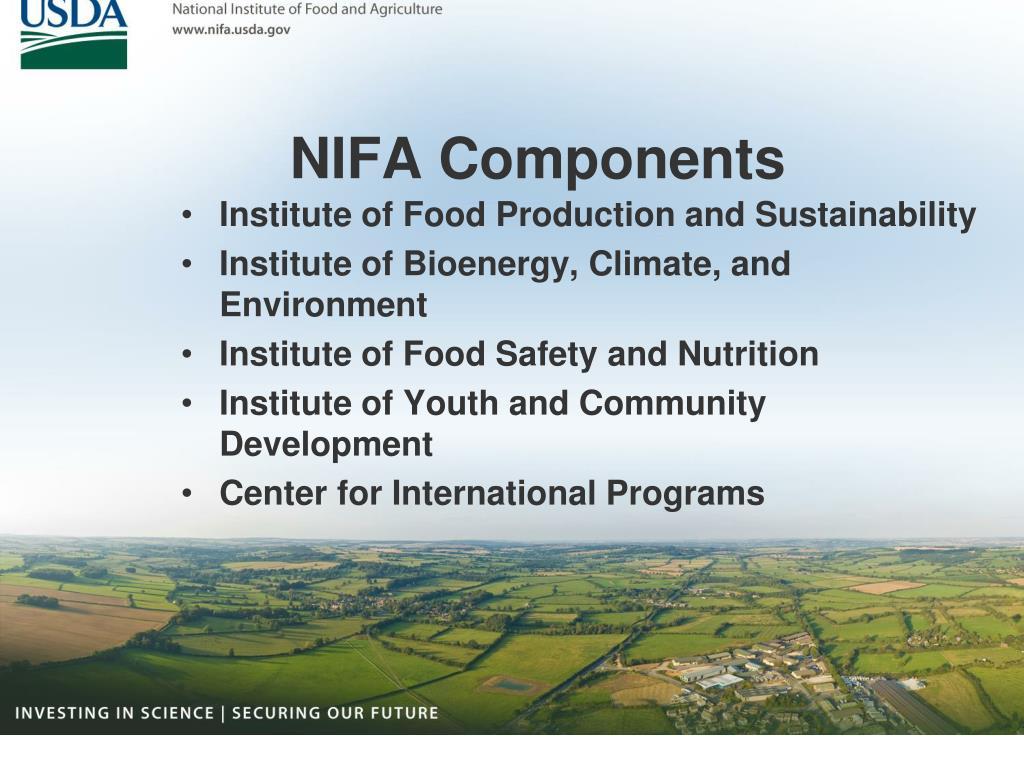 NIFA Components