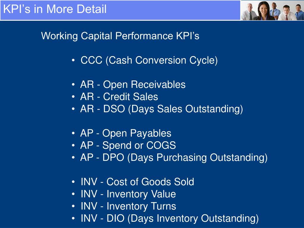 KPI's in More Detail