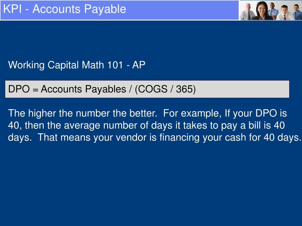 KPI - Accounts Payable