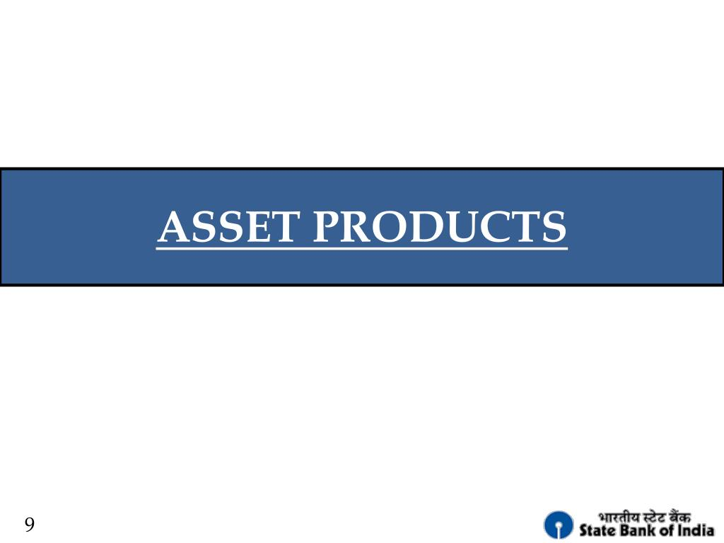ASSET PRODUCTS