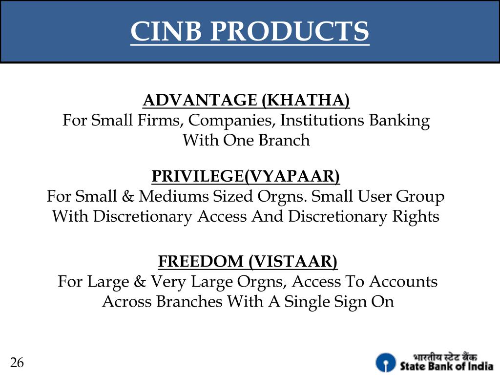 CINB PRODUCTS