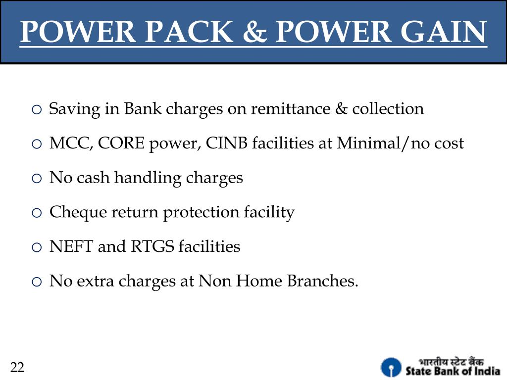POWER PACK & POWER GAIN