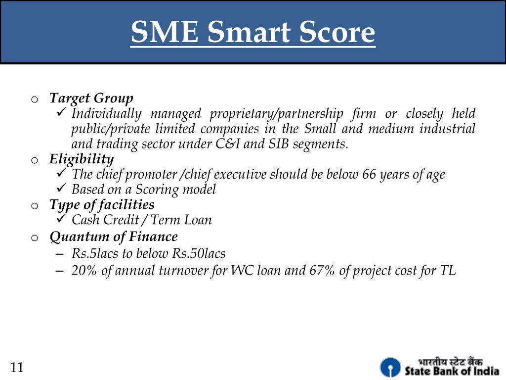 SME Smart Score