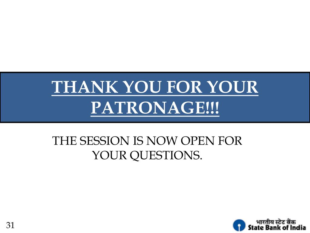 THANK YOU FOR YOUR PATRONAGE!!!