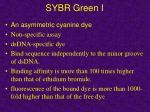 sybr green i