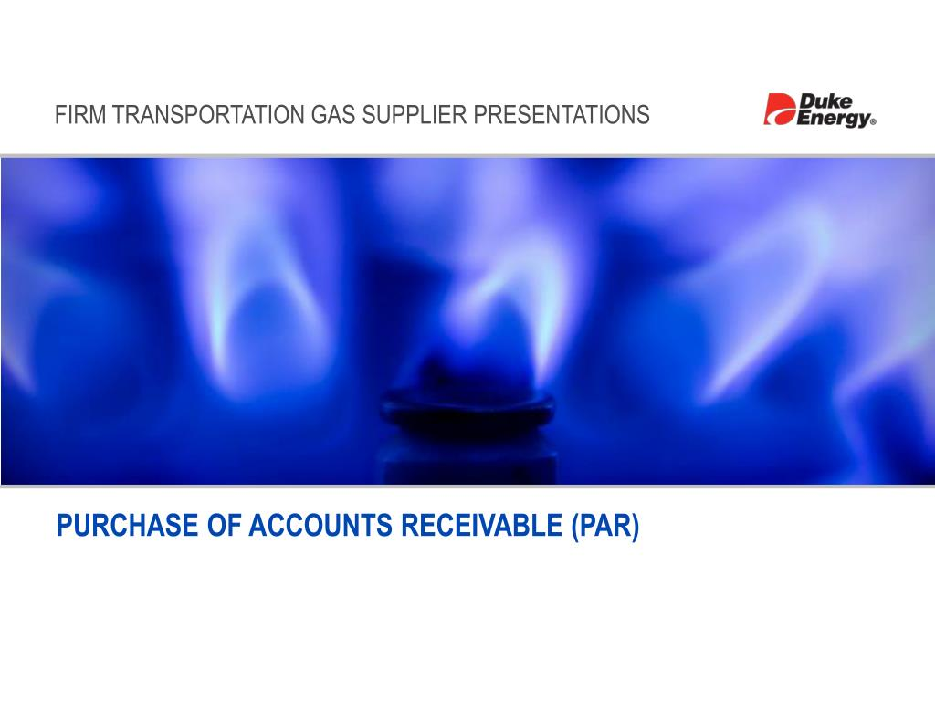purchase of accounts receivable par