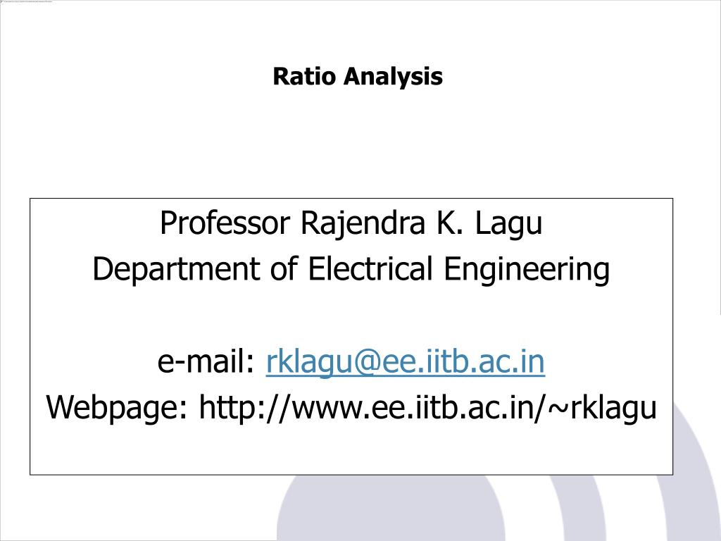 Professor Rajendra K. Lagu