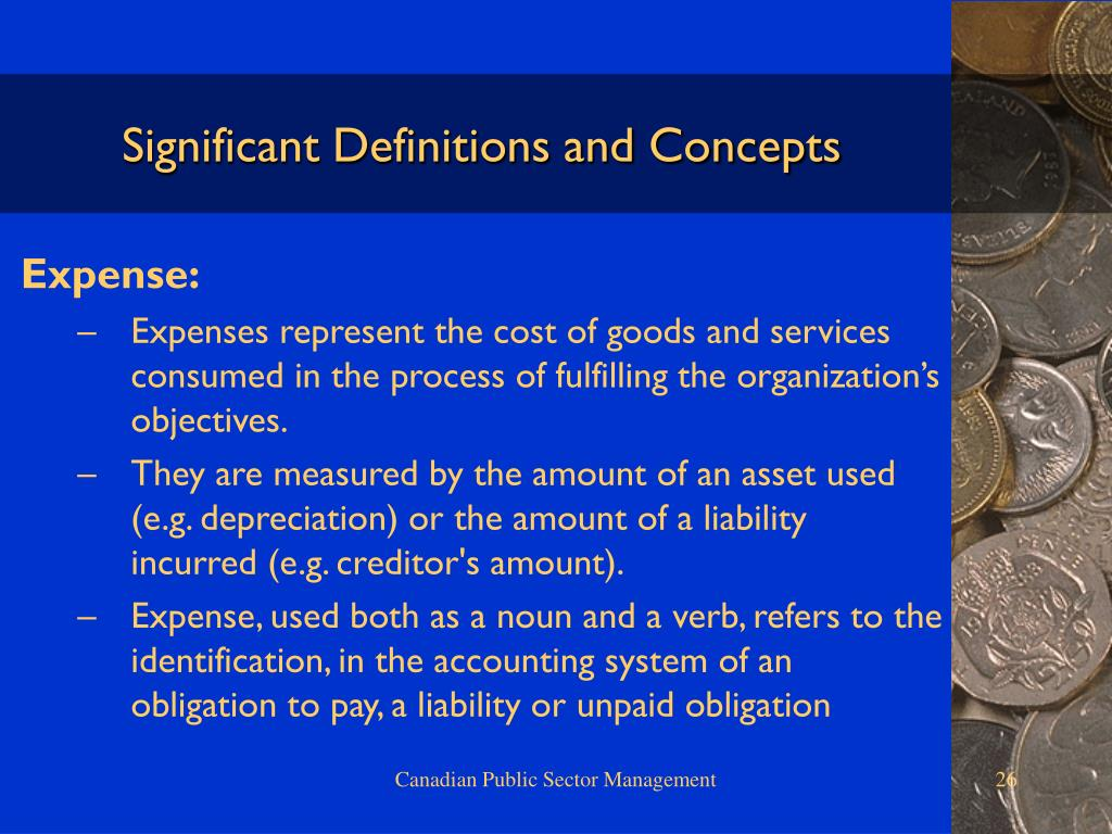 Significant Definitions and Concepts