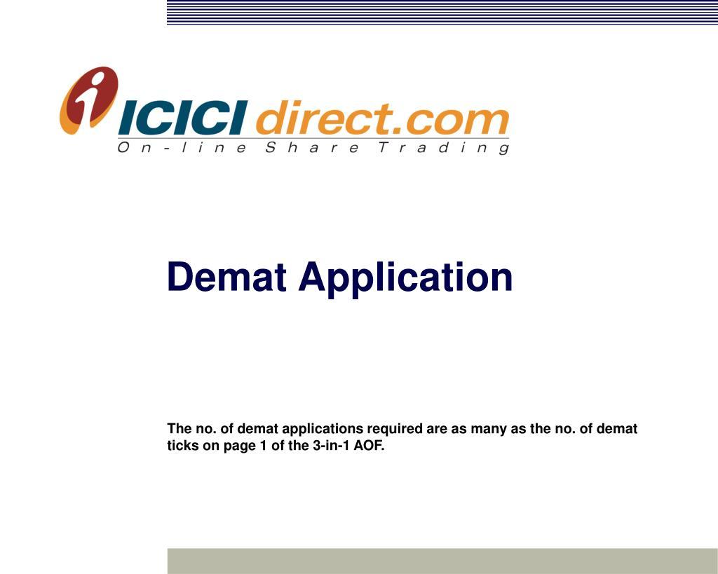 Demat Application