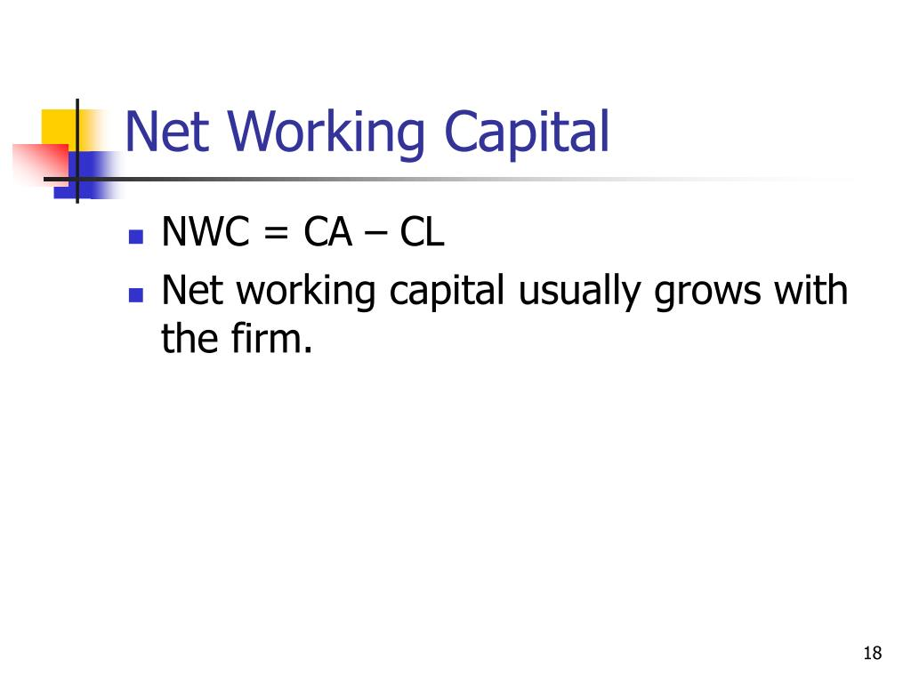 Net Working Capital