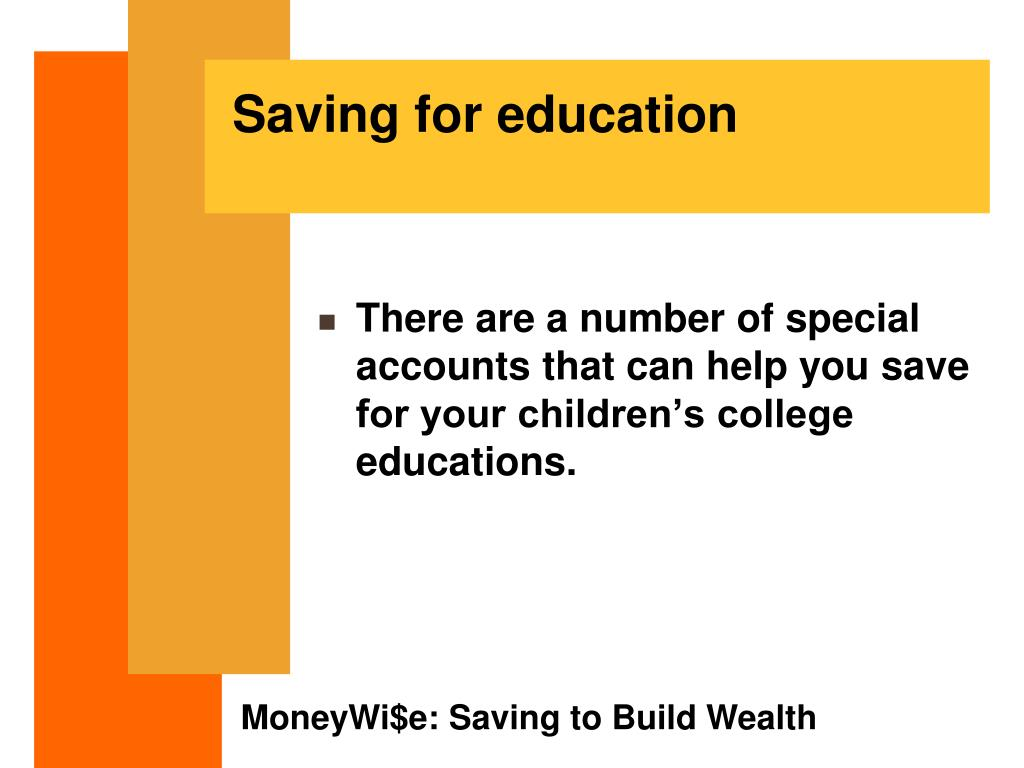 Saving for education