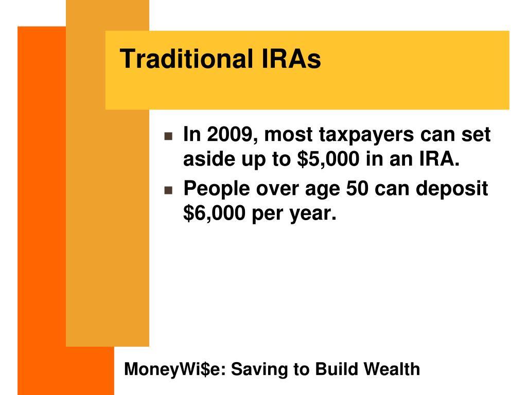 Traditional IRAs