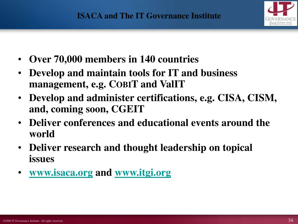 Over 70,000 members in 140 countries