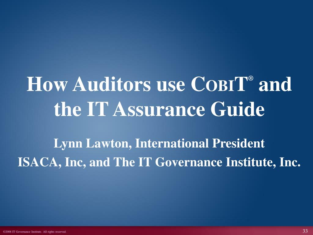 How Auditors use C