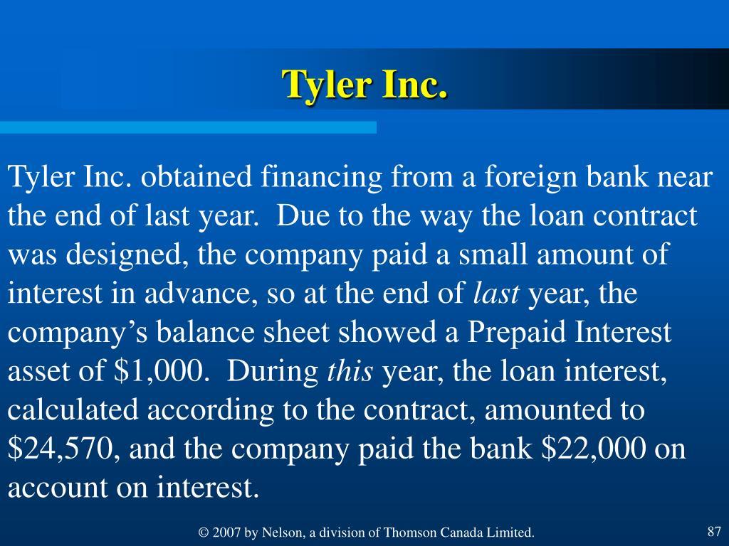 Tyler Inc.