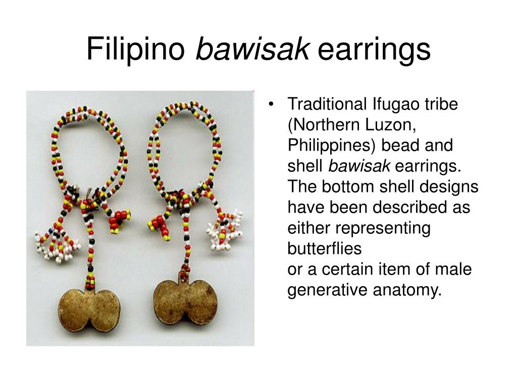 Traditional Ifugao tribe (Northern Luzon, Philippines) bead and shell