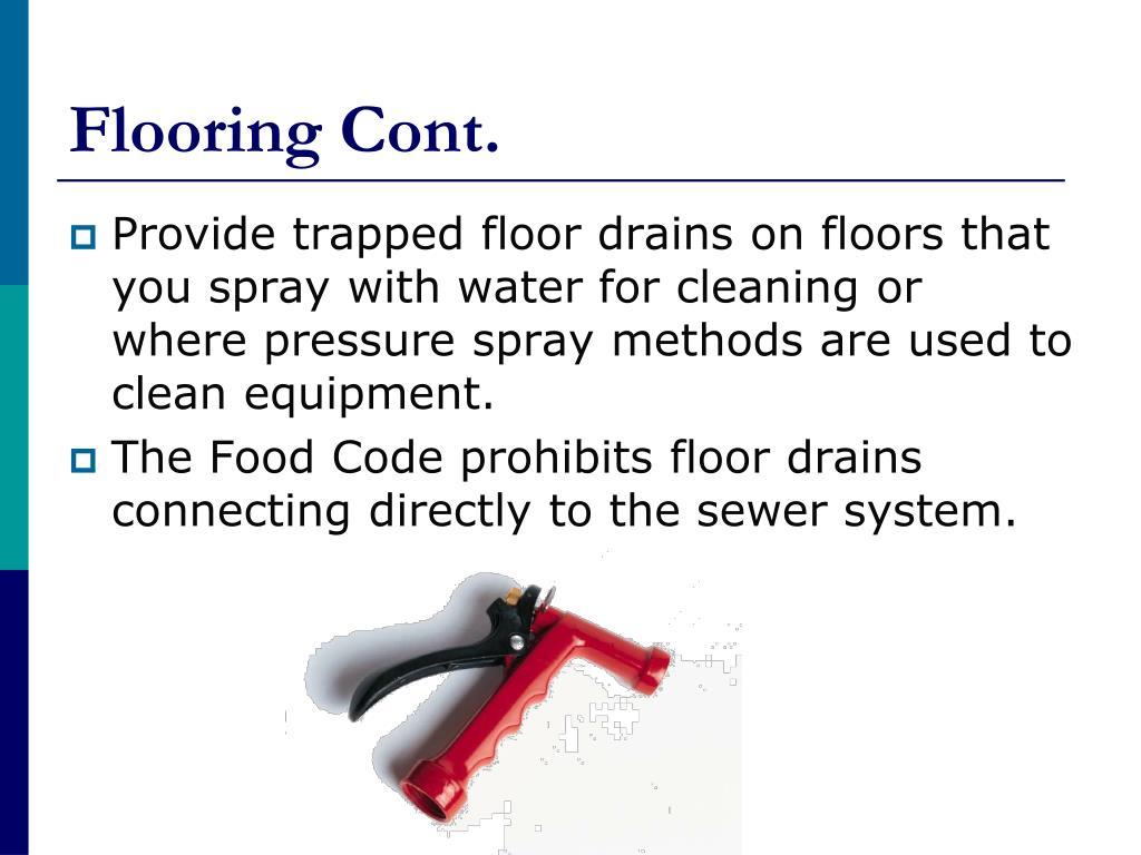 Flooring Cont.