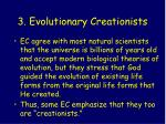 3 evolutionary creationists