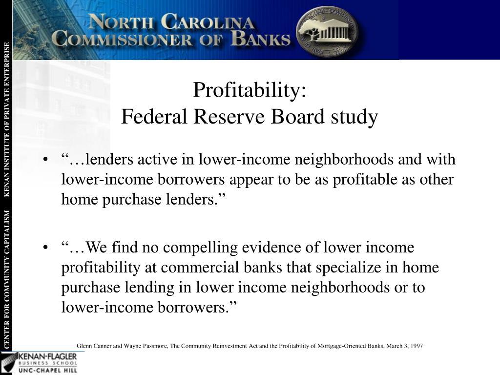 Profitability: