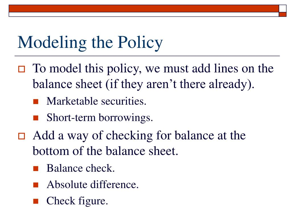 Modeling the Policy