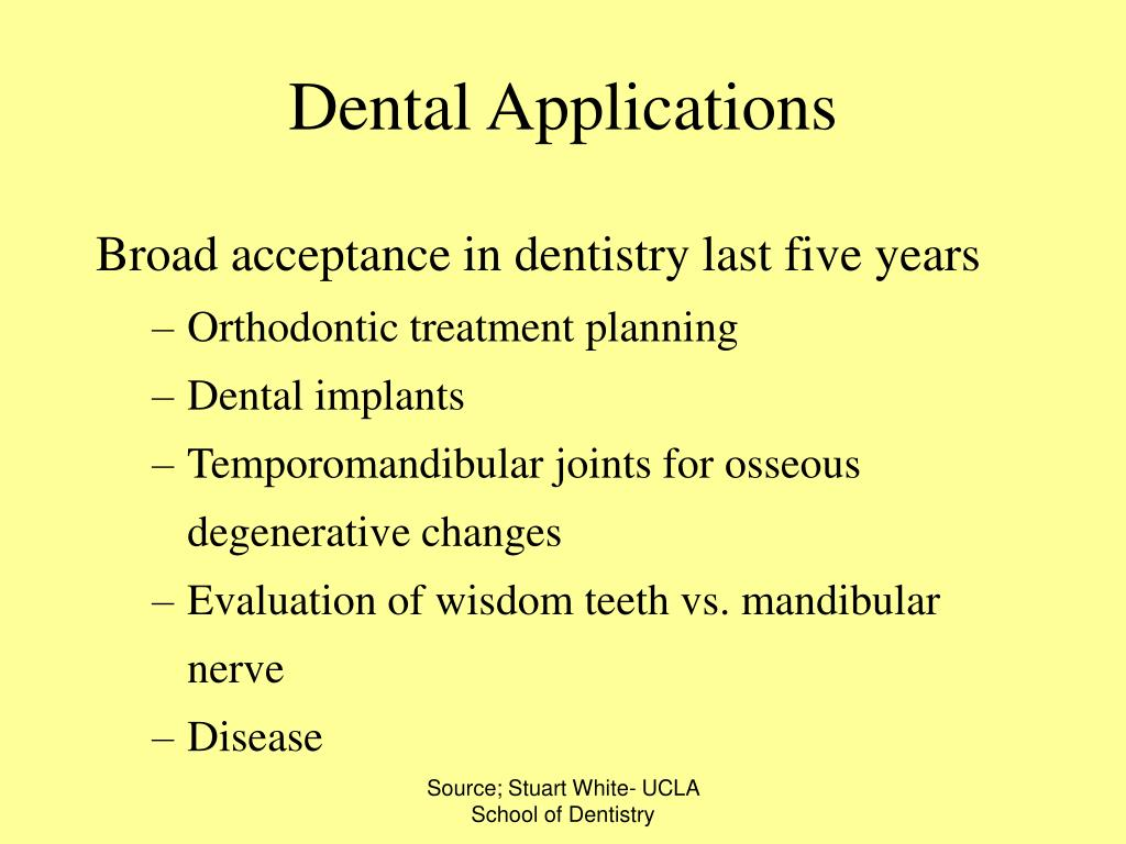 Dental Applications