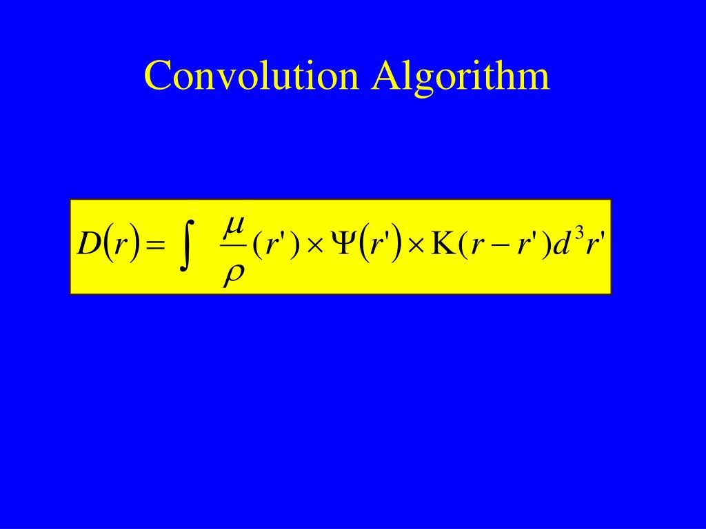 Convolution Algorithm