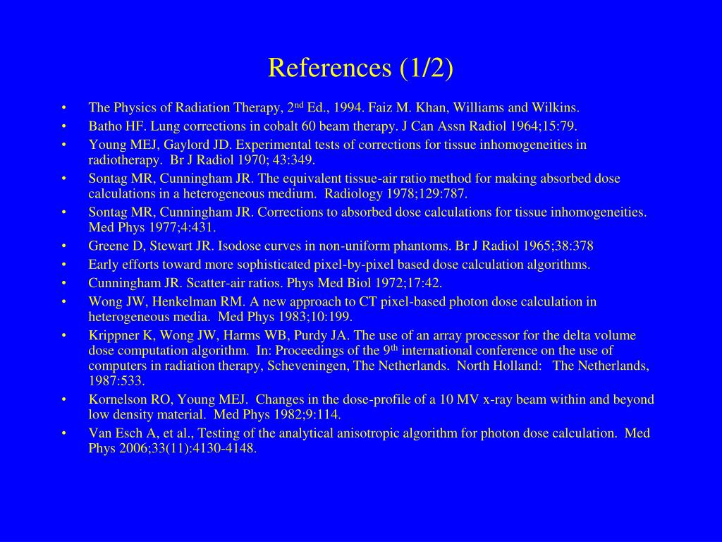 References (1/2)