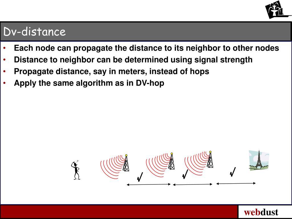 Dv-distance
