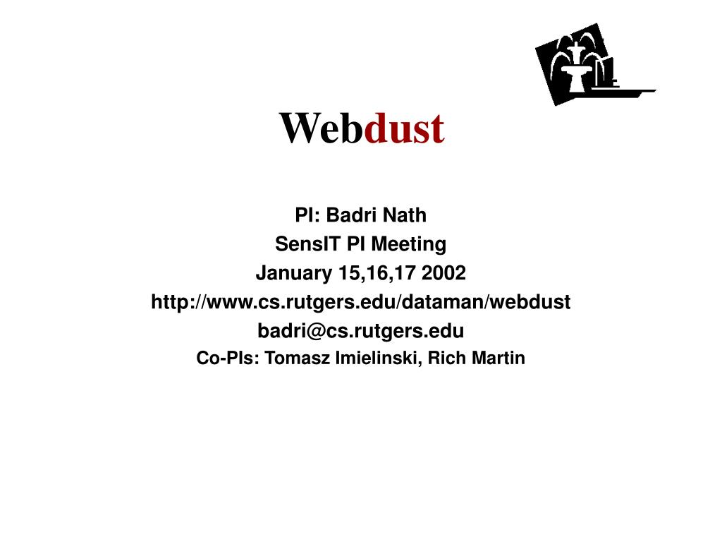 PI: Badri Nath