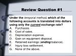 review question 1