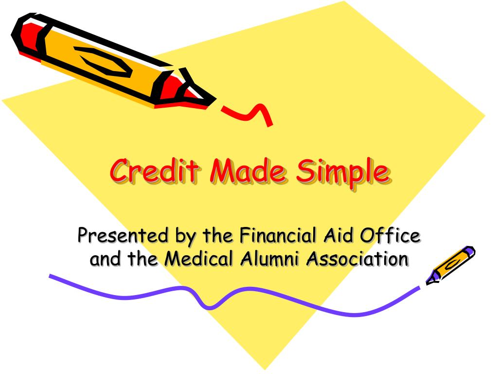 Credit Made Simple