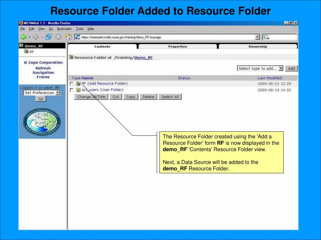 Resource Folder Added to Resource Folder