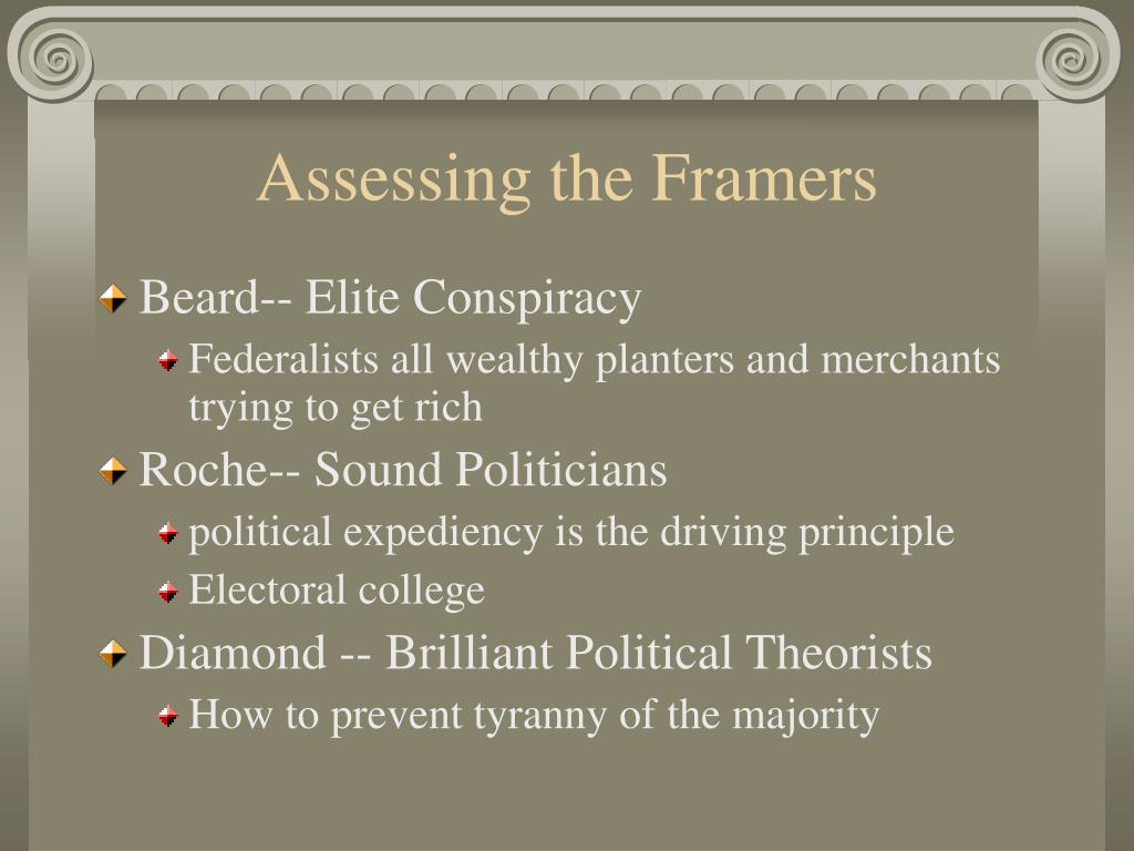 Assessing the Framers