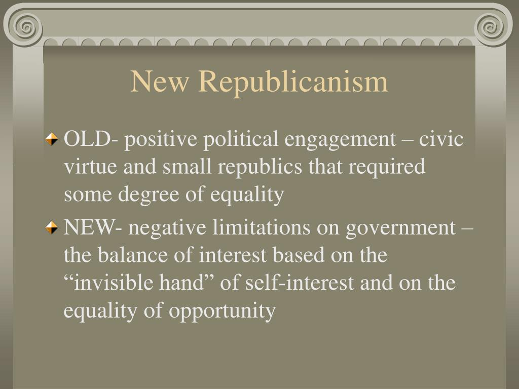 New Republicanism