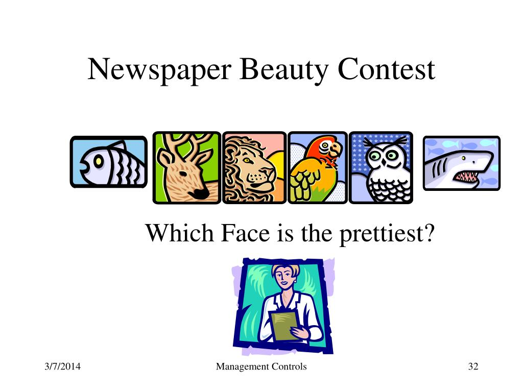 Newspaper Beauty Contest