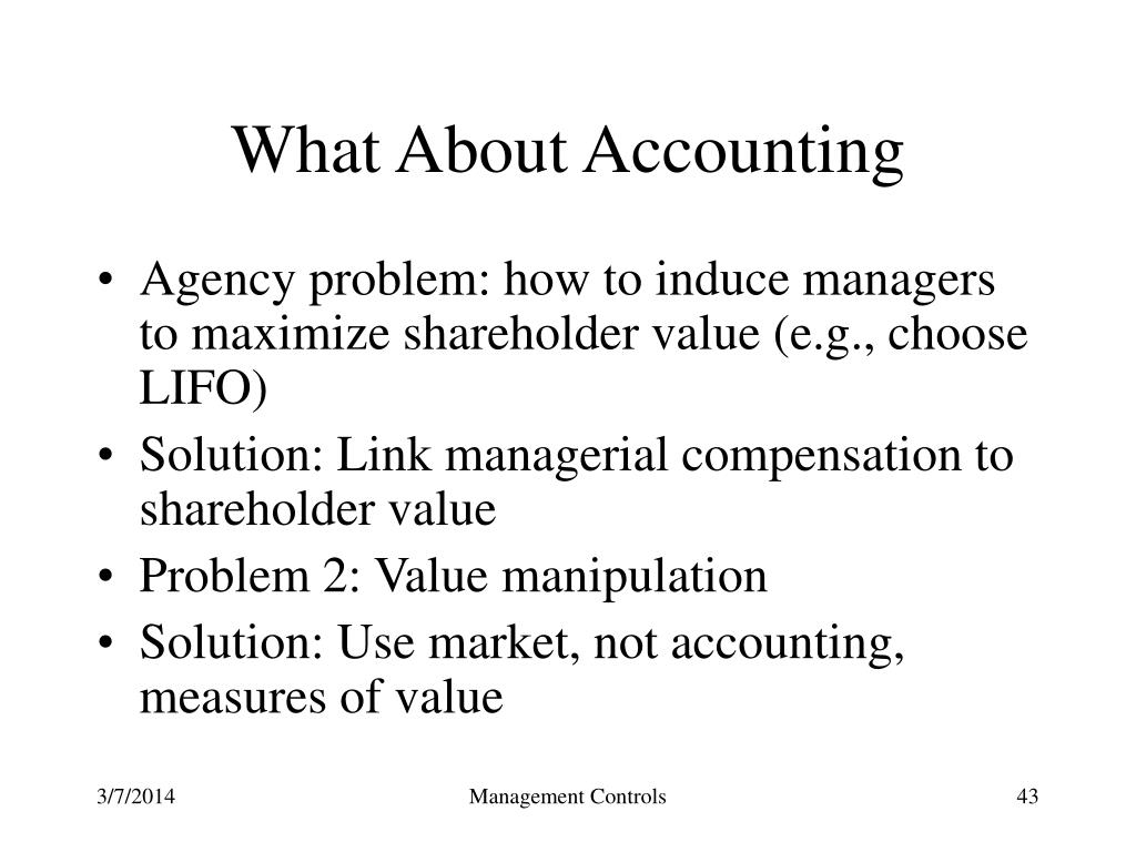 What About Accounting