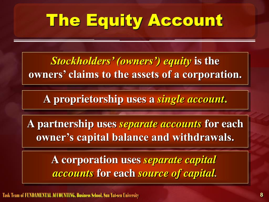 The Equity Account